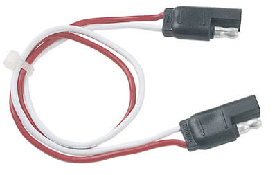 Plug-In Simple 12 in. L 6 - 12 volts Flat Connector Set