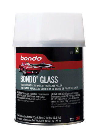 Bondo Auto Body Filler 1 qt. For For Marine Automotive & Household Use