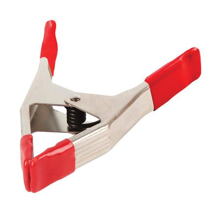 Bessey 2 Maximum Jaw Width Steel Spring Clamp 6 in. L x 0.3 in. W