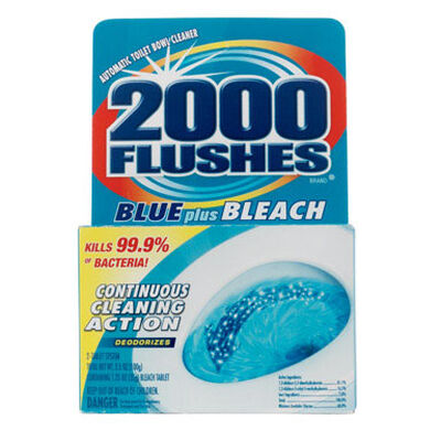 2000 Flushes Automatic Toilet Bowl Cleaner 2 pk