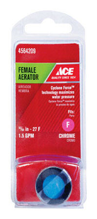 Danco Female Aerator 15/16in. -27M or 55/64in.-27F x 55/64 in. - 27F in. Chrome