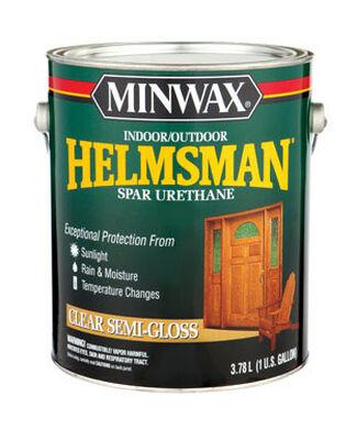Minwax Helmsman Indoor and Outdoor Clear Semi-Gloss Spar Urethane 1 gal.