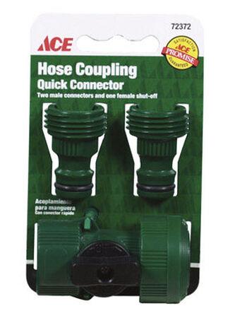Ace Plastic Quick Connector Hose Set