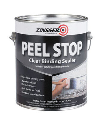 Zinsser Peel Stop Water-Based Interior and Exterior Sealer 1 gal. Clear