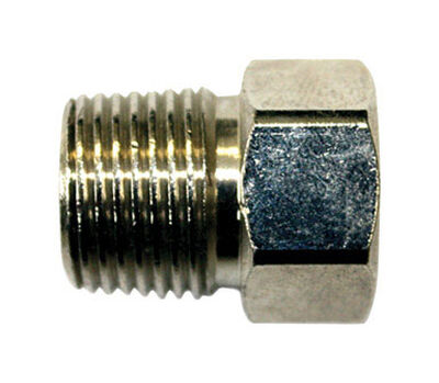 JMF 1/4 in. Male x 3/8 in. Dia. Female Brass Compression Adapter