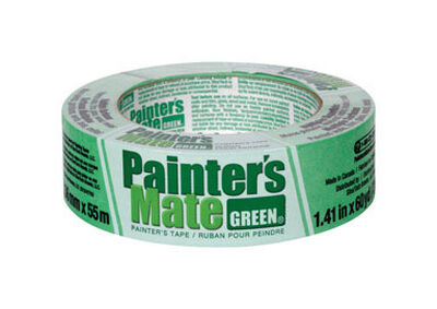 Painter's Mate 1.41 in. W x 60 yd. L General Purpose Masking Tape Medium to High Strength Green