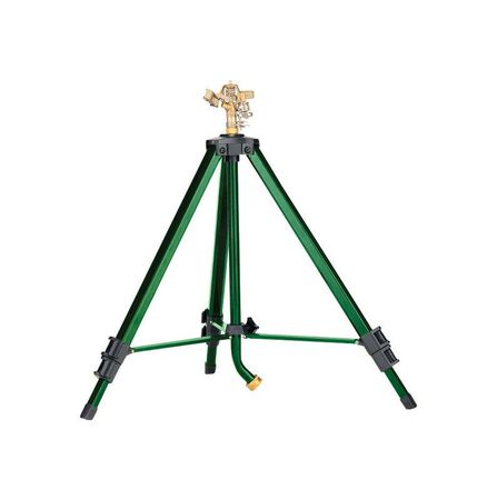 Ace Brass Tripod Impulse Sprinkler