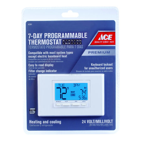Ace Digital Programmable Thermostat