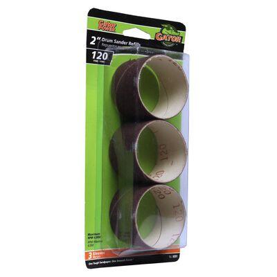 Gator Grit 2 in. Dia. x 1.5 in. Dia. 120 Grit Drum Sander Refill Aluminum Oxide