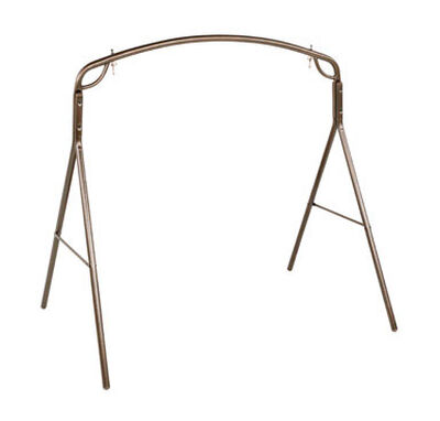Jack-Post Woodlawn Swing Frame Bronze 500 lb. 71-1/4 in. D x 66-3/4 in. H x 48 in. W