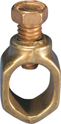 Erico 1/2 in. Copper Ground Rod Clamp 1