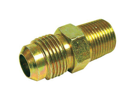 Ace 1/2 in. MPT Dia. x 3/8 in. MPT Dia. Brass Flare Connector