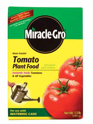 Miracle-Gro Tomato Plant Food For Vegetables 1.5 lb.