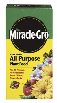 Miracle-Gro All Purpose Plant Food For Plants Flowers Vegetables 8 oz.