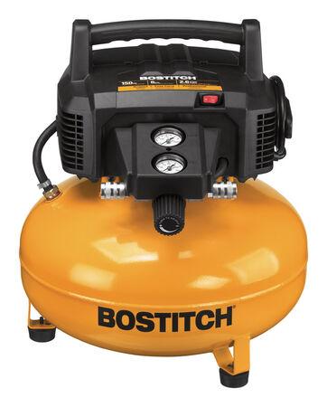 Bostitch 6 gal. Pancake Portable Air Compressor 150 psi 1.1 hp