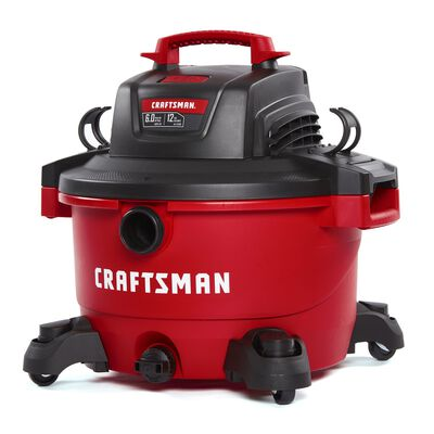 Craftsman 12 gal. Corded 6 hp 110 volts Wet/Dry Vacuum