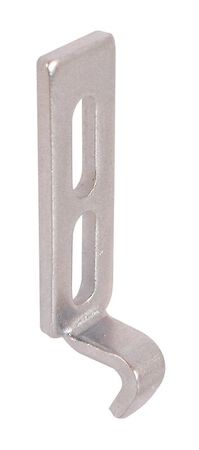 Prime-Line Interior Die-Cast Zinc Plated Latch Strike