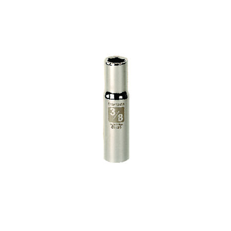 Craftsman 3/8 in. x 3/8 in. drive SAE 6 Point Deep Socket 1 pc.
