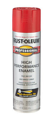 Rust-Oleum Professional Safety Red Enamel Spray 15 oz.
