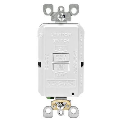 Leviton GFCI Receptacle 20 amps 5-20R 125 volts White
