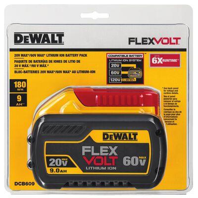 DeWalt FLEXVOLT 20/60V MAX Lithium-Ion Battery 9Ah