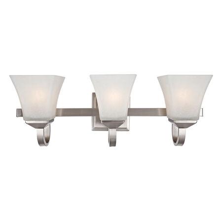 Torino 3-Light Vanity Light, Satin Nickel #514760