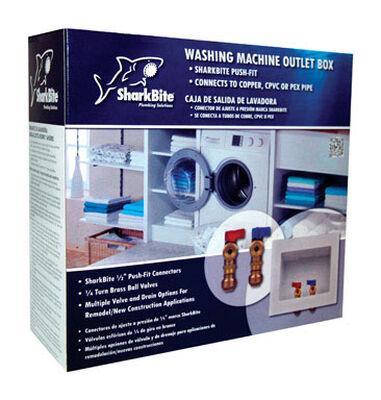 SharkBite Washing Machine Washing Machine Outlet Box