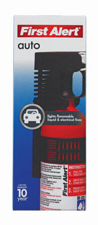 First Alert 2 lb. US DOT For Auto Fire Extinguisher