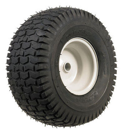 Arnold Lawn Tractor Front Steel Replacement Tire 15 in. Dia. x 6 in. W 300 lb.