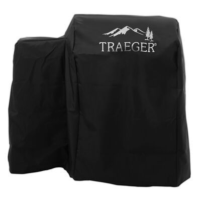 Traeger Black Grill Cover 32.8 in. H x 21.4 in. W x 33.8 in. D Traeger