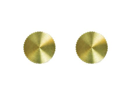 Jandorf Lock-Up Caps Brass 2 pk