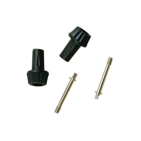 Jandorf Socket Knobs 1/2 in. L x 3-3/16 in. H Black 2 pk