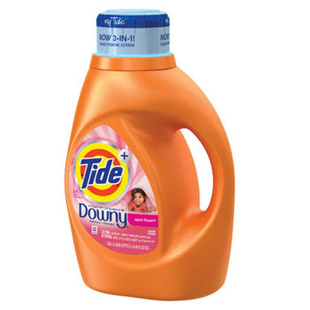 Tide April Fresh Scent Laundry Detergent 46 oz.