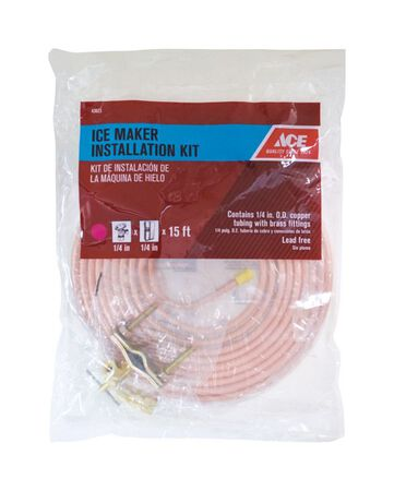 Ace Ice Maker Kit Type L 1/4 in. Dia. x 15 ft. L