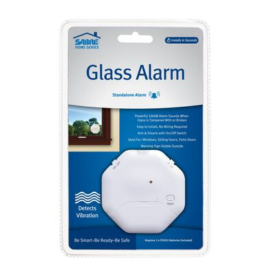 Sabre White Window Alarm
