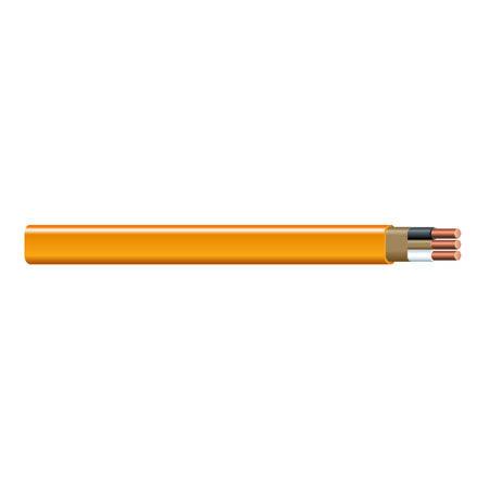 Southwire 25 ft. 10/2 Romex Type NM-B WG Non-Metallic Wire Orange
