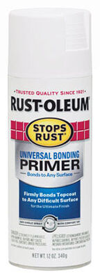 Rust-Oleum Stops Rust White Smooth Universal Bonding Primer Spray 12 oz.