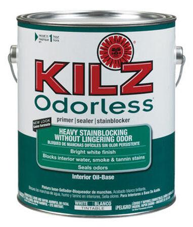 Kilz Odorless Oil-Based Interior Primer and Sealer 1 gal. White
