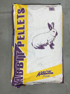 Rabbit Pellets 17% 50 lb