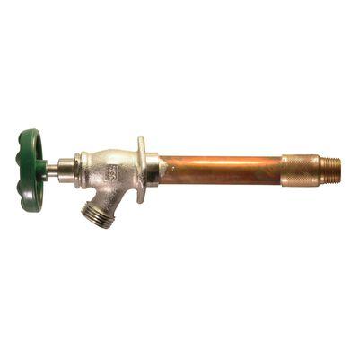 Arrowhead 1/2 in. Sweat Dia. or 1/2 in. MIP Brass 10 in. Lawn Faucet