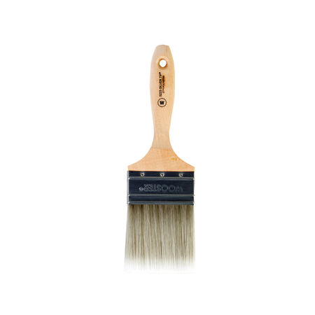 Wooster Silver Tip 3 in. W Flat Paint Brush