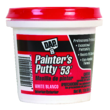 DAP Ready to Use White Painter's Putty 0.5 pt.