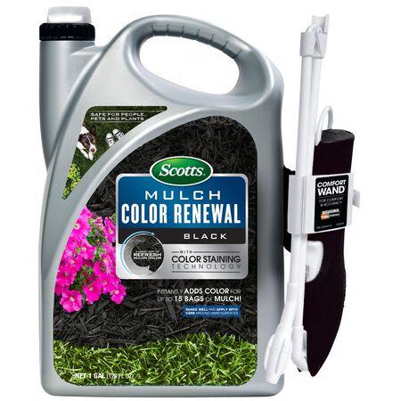 Scotts Mulch Color Renewal Black 1 gal.