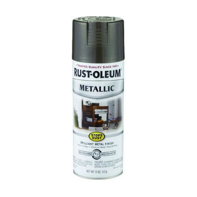 Rust-Oleum Stops Rust Dark Bronze Metallic Metallic Spray 11 oz.