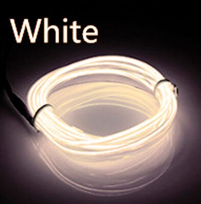 Celebrations Neon Rope Light Set Warm White Plastic 1 pk
