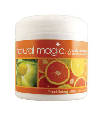 Natural Magic 14 oz. Citrus Scent Odor Absorbing Gel