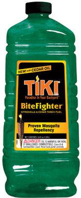 Tiki Bug Fighter Citronella & Cedar Torch Fuel Green 64 oz.