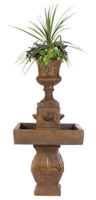 4 Spillplain Fleur De Lis Fountain Java