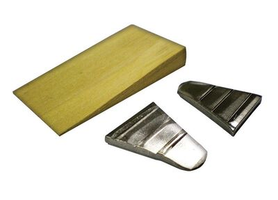Link Handles Wood and Steel Hammer Wedges 1/2 in. L