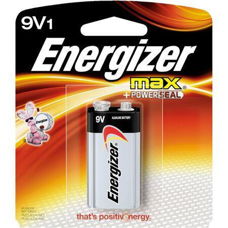 Energizer Max 9V Alkaline Batteries 9 volts 1 pk